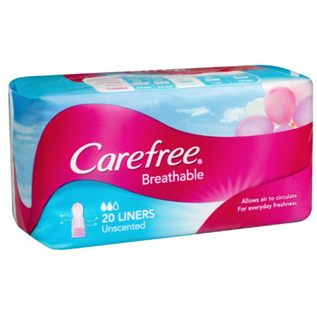 CAREFREE Liner Breathable 20s