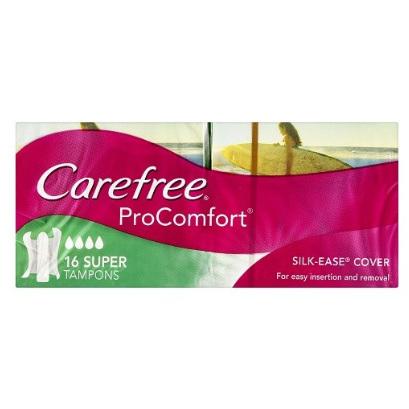 CAREFREE Tampons ProComfort Super 16