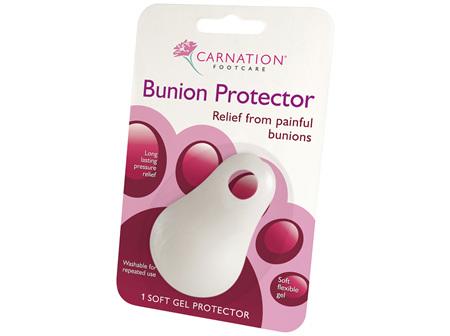 Carnation Bunion Gel Protector
