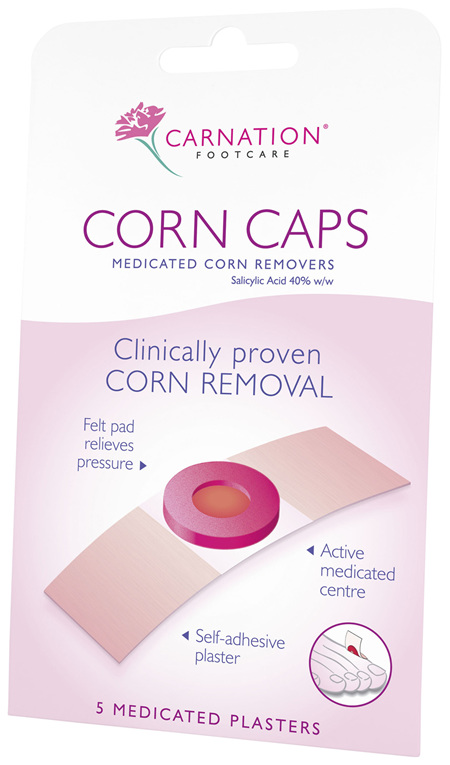 Carnation Corn Cap Plaster 5 per pack