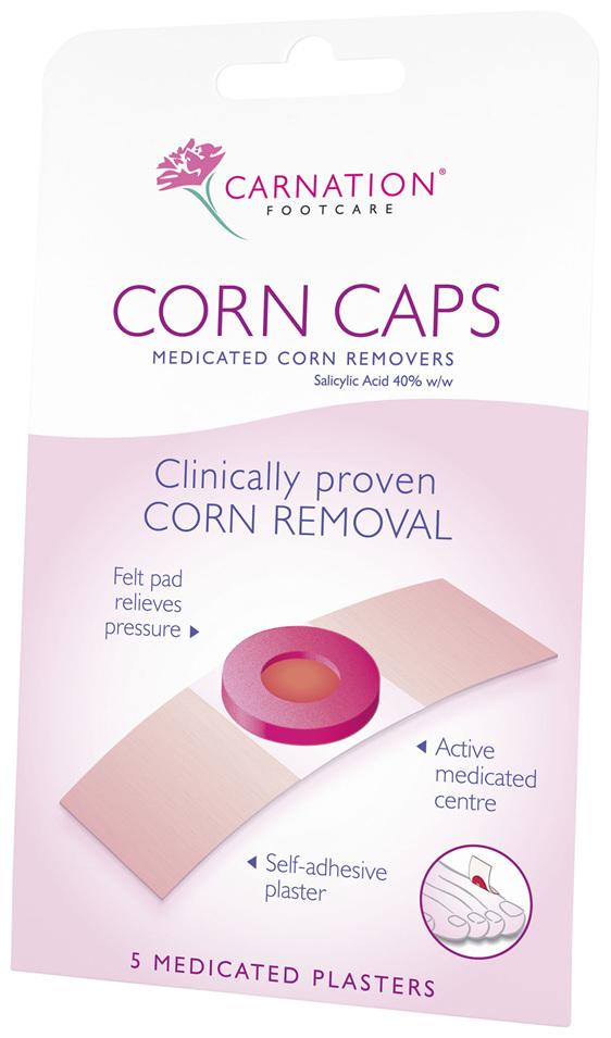 Carnation Corn Cap Plaster 5 per pack
