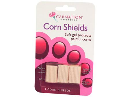 Carnation Corn Shields 3 per pack