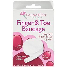 CARNATION Finger & Toe Tubular Bandage 4m