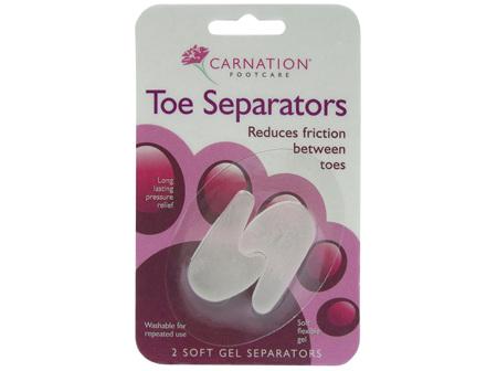 Carnation Gelcare Toe Separators 2's