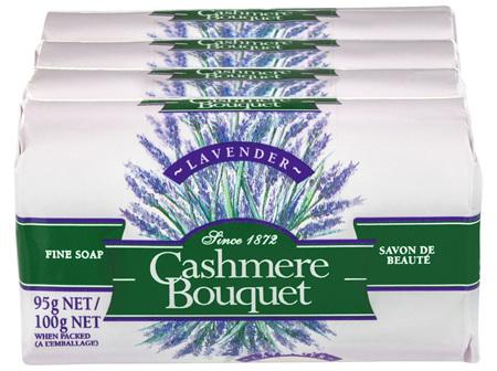 Cashmere Bouquet Fine Bar Soap Lavender 4 x 100g