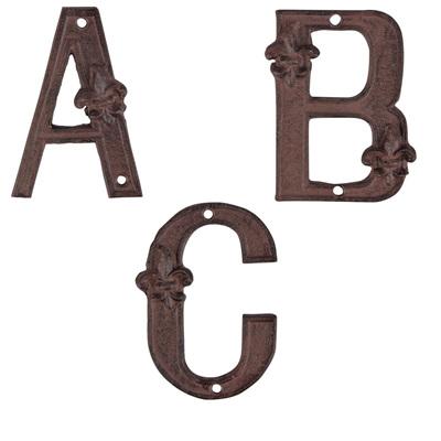 Cast Iron House Letters
