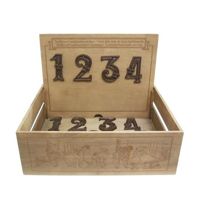 Cast Iron House Numbers