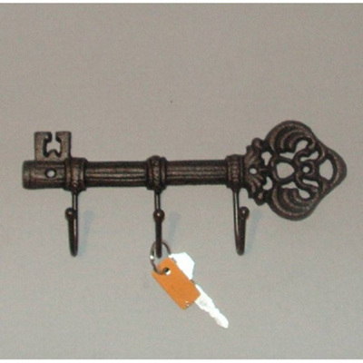 Cast Iron Ornate Keys Hook