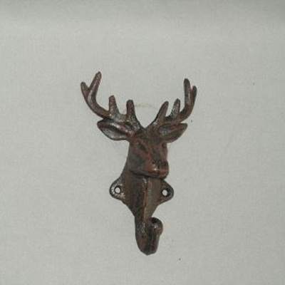Cast Iron Stag Hook