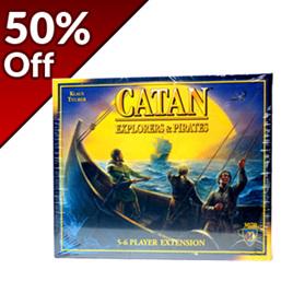 Catan: Explorers & Pirates 5-6 Player Extension (Previous Edition)