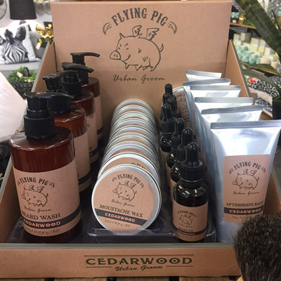 Cedarwood Flying Pig Beard Care Range