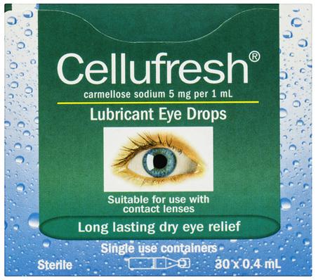 Cellufresh Lubricant Eye Drops 30 x 0.4mL