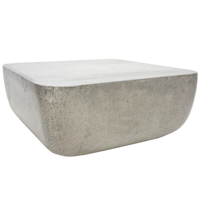 Cement Square Coffee Table H30x75cm