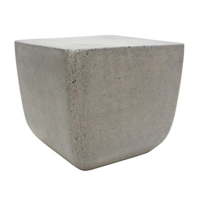 Cement Square Side Table H45x50cm
