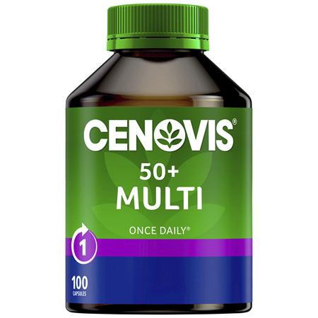 Cenovis 50+ Multi 100 Capsules