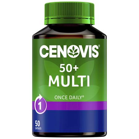 Cenovis 50+ Multi 50 Capsules