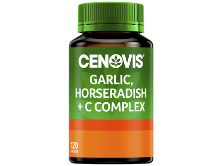 Cenovis Garlic and Horseradish + C Complex