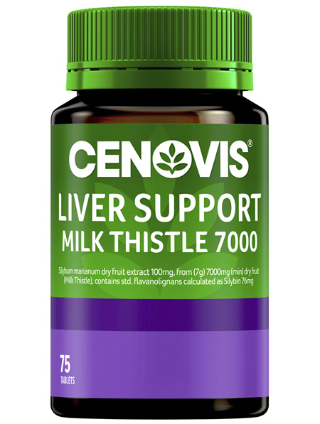 Cenovis Liver Support Milk Thistle 7000 75 Tablets