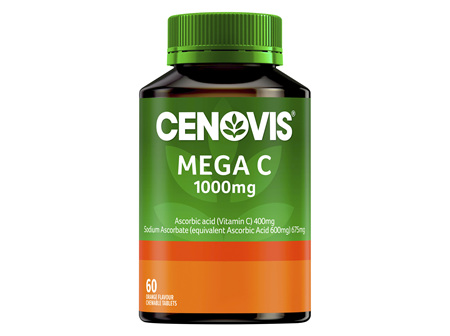 Cenovis Mega C 1000mg 60 Chewable tablets