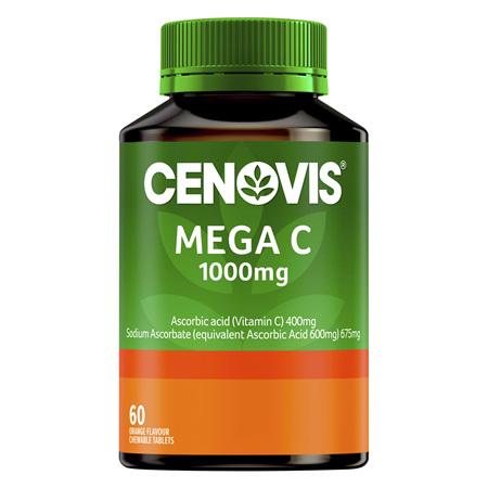 Cenovis Mega C 1000mg 60 Chewable tablets