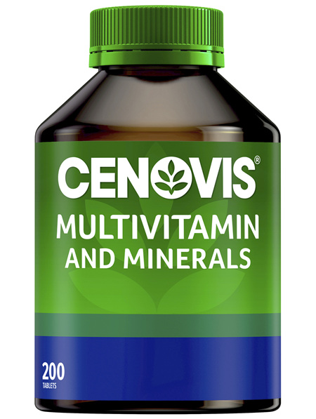 Cenovis Multivitamin and Minerals 200 Tablets