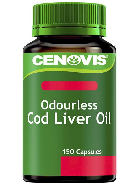 Cenovis Odourless Cod Liver Oil