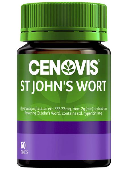 Cenovis St John's Wort 60 Tablets