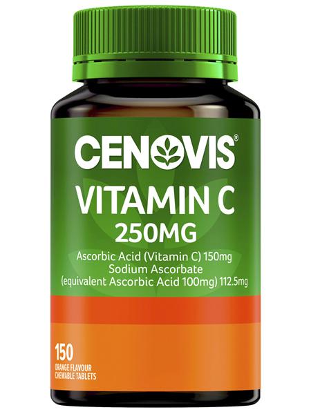 Cenovis Vitamin C 250mg 150 Tablets