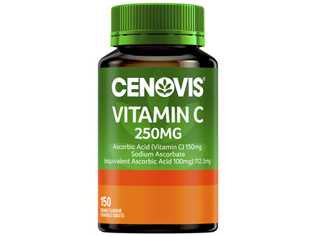 Cenovis Vitamin C 250mg 150 Tablets