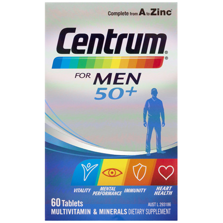 Centrum For Men 50+ 60 Tablets