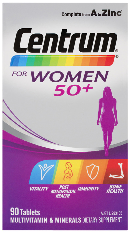 Centrum For Women 50+ Tablets 90 Tablets
