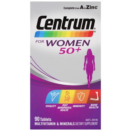 Centrum For Women 50+ Tablets 90 Tablets