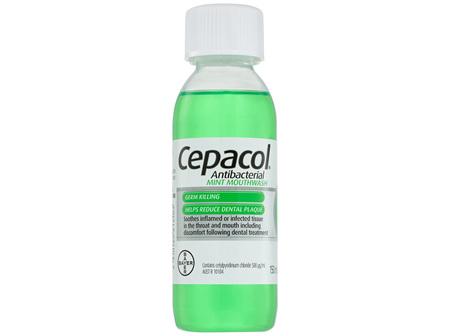 Cepacol Antibacterial Mint Mouthwash 150mL