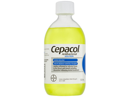 Cepacol Antibacterial Mouthwash Solution 500mL