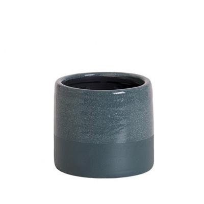 Ceramic Pot - Petrol