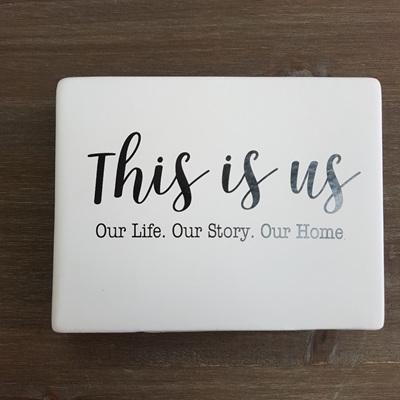 Ceramic Sign This Is Us