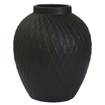 Ceramic Vase Black