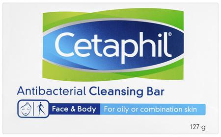Cetaphil Antibacterial Cleansing Bar 127g