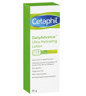 CETAPHIL Daily Advanced Ultra Hydrating Lotion 85g
