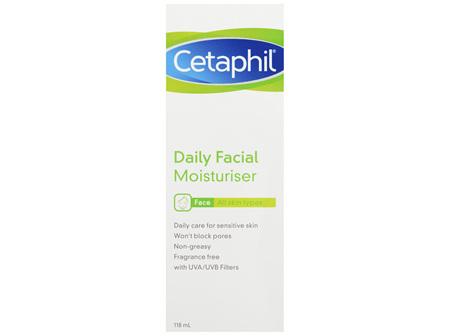 Cetaphil Daily Facial Moisturiser 118mL, For All Skin Types