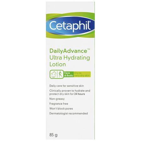 Cetaphil DailyAdvance Ultra Hydrating Lotion 85g