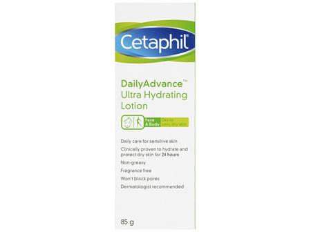 Cetaphil DailyAdvance Ultra Hydrating Lotion 85gm, Dry Skin
