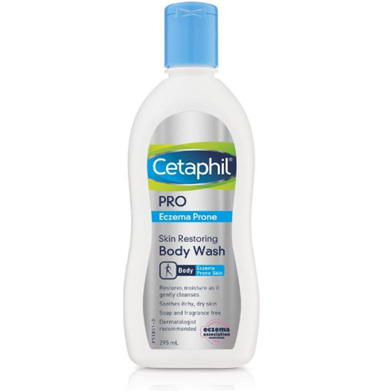 Cetaphil Eczema Prone Body Wash 295ml