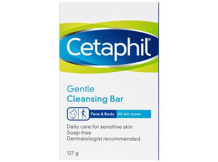 Cetaphil Gentle Cleansing Bar 127g, Gentle to Skin