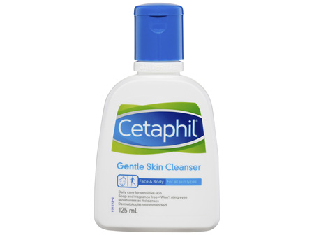 Cetaphil Gentle Skin Cleanser 125mL, For Face & Body Care