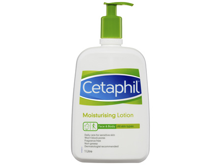 Cetaphil Moisturising Lotion 1L, Daily Face & Body
