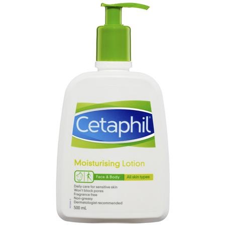 Cetaphil Moisturising Lotion 500mL, Daily Face & Body