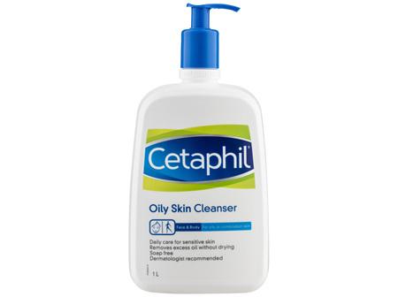 Cetaphil Oily Skin Cleanser 1L