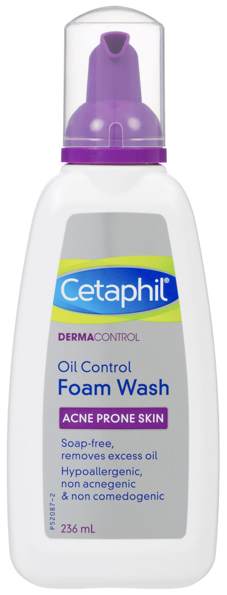 Cetaphil Pro Acne Prone Oil Control Foam Face Wash 236mL