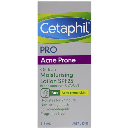 Cetaphil Pro Acne Prone Oil-Free Moisturising Lotion SPF25